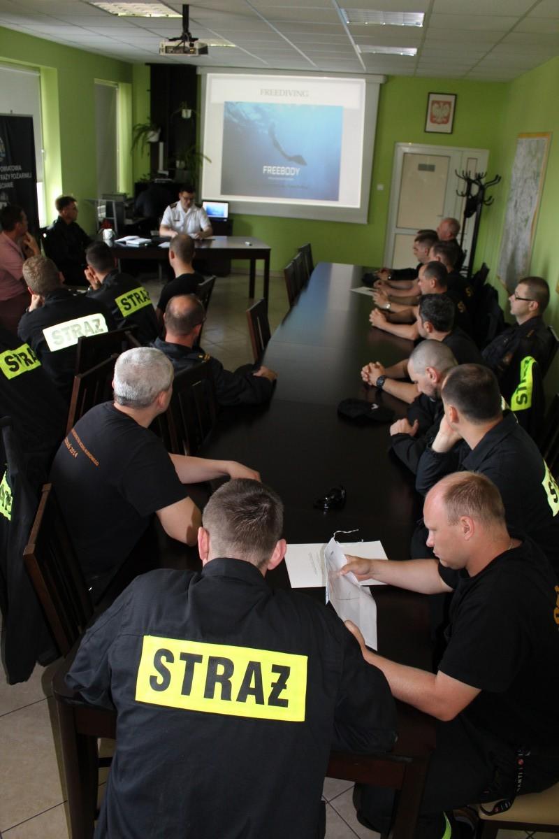 Warsztaty Freedivingu dla Państwowej Straży Pożarnej